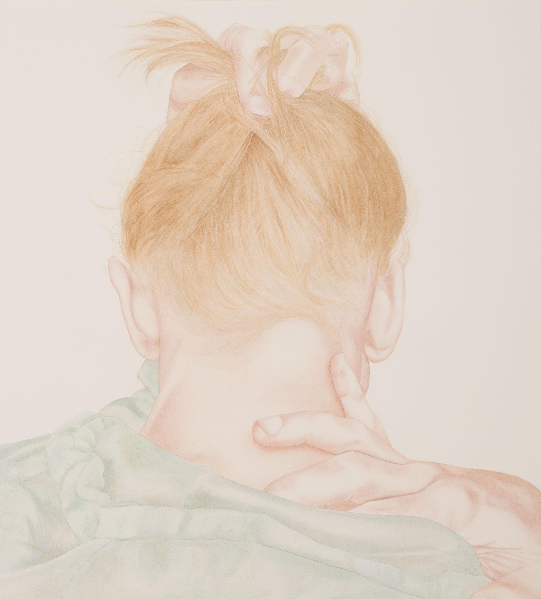 Petals, 2019. Watercolor on paper. 71x63 cm